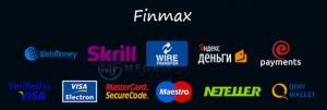 Платежные системы на Финмакс