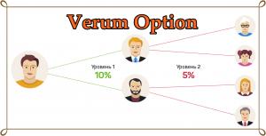 Партнерская программа verum option
