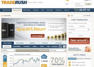 Обзор traderush.com